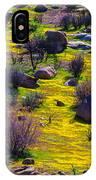 Goldenfield Hillside IPhone Case