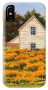 Goldenrod Time IPhone Case