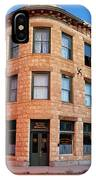 Goldfield Consolidated Mines Building IPhone Case