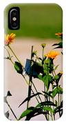 Goldfinch And Yellow Flowers IPhone Case