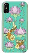 Goldfish And Lotus IPhone Case
