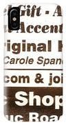 Golteez  Celebrates Carole Spandau Original Hockey Paintings IPhone Case