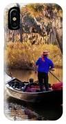 Gondola In City Park Lagoon New Orleans IPhone Case