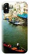 Gondola In Venice Italy IPhone Case