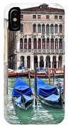 Gondolas Galore IPhone Case