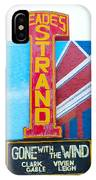 Gone With The Wind At The Strand IPhone Case