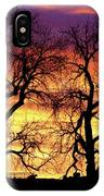 Good Morning Cows Colorful Sunrise IPhone Case