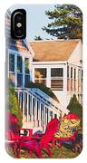 Goose Creek Beach Cottages IPhone Case