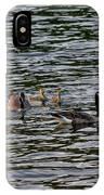 Goose Family IPhone Case