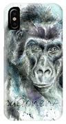Gorila2 IPhone Case