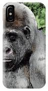Gorilla My Dreams IPhone Case
