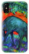 Goring Shadows IPhone Case by Kendall Kessler