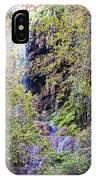Gorman Falls At Colorado State Park IIi - San Saba Texas Hill Country IPhone Case