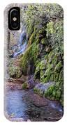 Gorman Falls At Colorado State Park - San Saba Texas Hill Country IPhone Case