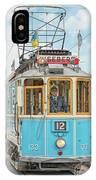 Gothenburg Liseberg Tram IPhone Case
