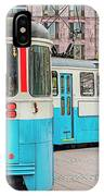 Gothenburg Public Tramcar IPhone Case