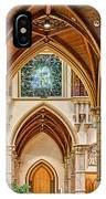 Gothic Arches - Holy Name Cathedral - Chicago IPhone Case