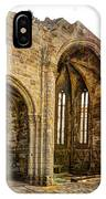 Gothic Temple Ruins - San Domingos IPhone Case