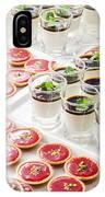 Gourmet Desserts IPhone Case