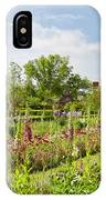 Governor's Ballroom Garden In The Spring IPhone Case