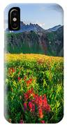 Governor's Basin In Bloom IPhone Case