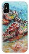 Sea Turtle Buddies IPhone Case