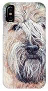 Gracie, Soft Coated Wheaten Terrier IPhone Case