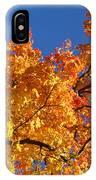 Gradient Autumn Tree IPhone Case