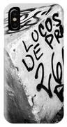 Graffiti Block IPhone Case