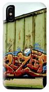 Graffiti Boxcar IPhone X Case