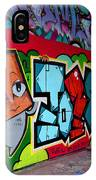 Graffiti London Style IPhone Case