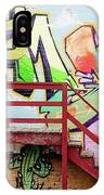 Graffiti Steps IPhone Case