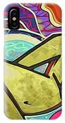 Grafitti Curves IPhone Case