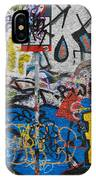 Grafitti On The U2 Wall, Windmill Lane IPhone Case