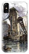 Grain Elevator, 1877 IPhone Case