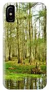 Grand Bayou Swamp IPhone Case