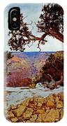 Grand Canyon National Park - Winter On South Rim IPhone Case