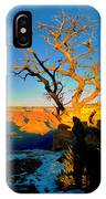 Grand Canyon National Park Winter Sunrise On South Rim IPhone Case