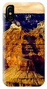 Grand Canyon Painting Sunset IPhone Case