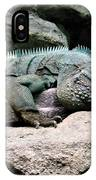 Grand Cayman Blue Iguana IPhone Case