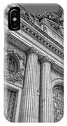 Grand Central Terminal - Chrysler Building Bw IPhone Case