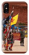 Grand Entry At Star Feather Pow-wow IPhone Case