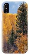 Grand Teton Fall IPhone Case