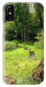 remembering my grandmas garden when I'm making my own  IPhone Case