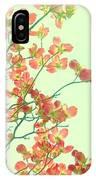Grandma's Pink Dogwood IPhone Case