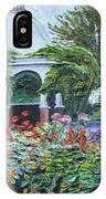 Grandmother's Garden Flowers IPhone Case