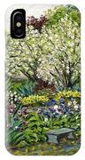 Grandmother's Garden Spring Blossoms IPhone Case