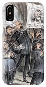 Grant Cartoon, 1880 IPhone Case