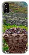 Grape Harvest IPhone Case