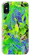 Grape Leaves IPhone Case